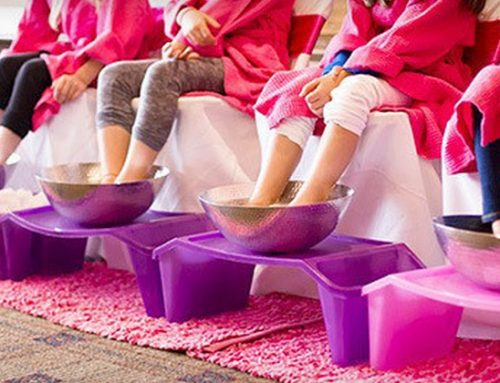 Make your little princess feel pampered with a kids spa party!