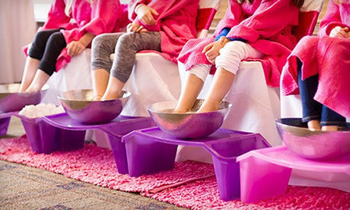 Make your little princess feel pampered with a kids spa party